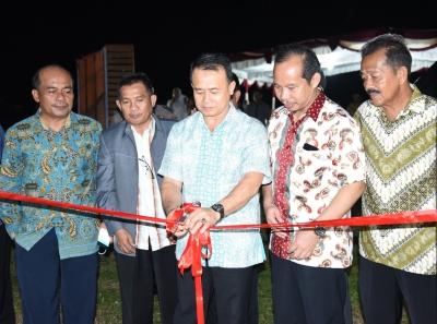 Wabup Bangka Resmikan Pasar Kuliner Belinyu