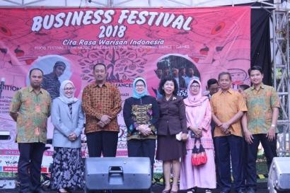 Berburu Jajanan Nusantara di Business Festival 2018