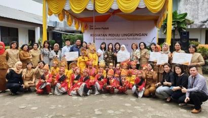 Danamon Grup dan Yayasan Danamon Peduli Melakukan Perbaikan Sarana Prasarana Pendidikan di Medan