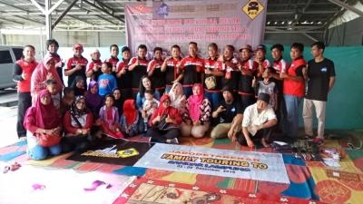 Lintasi Selat Sunda, Pembuktian Daihatsu Zebra Club Kukuhkan  Lampung Sebagai Chapter ke-26