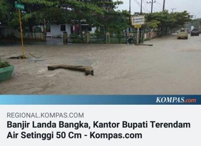 Benarkah Berita Banjir Kompascom Hoaks?