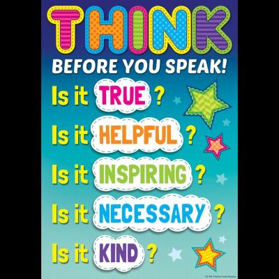 Before you Speak, Think Twice