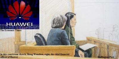 Opini Berbagai Pihak terhadap Penangkapan CFO Huawei di Kanada