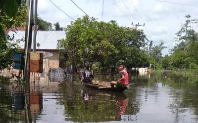 Belum Ada Kebijakan Pemkab Tebo Tangani Korban Banjir