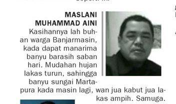 Ternyata, Menulis dalam Bahasa Banjar Lebih Sulit