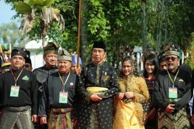 Jawaban Jenius Jokowi untuk Riau