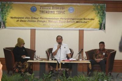 Proteksi Desa Melawan Narkoba