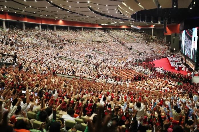 Dihadiri Puluhan Ribu Peserta, Konfernas Gerindra 2018 Memberi Sinyal Kemenangan