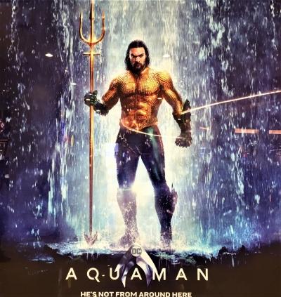 Hati-hati! Aquaman bersama Trisulanya datang Mengingatkan Kita