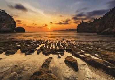 Senja Menawan di Batu Bengkung, Malang