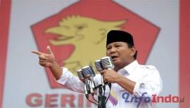 Pidato Prabowo Subianto: Kalau Kita Kalah, Negara Ini Bisa Punah!!