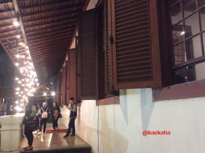 Kesempatan Langka, Menjelajahi Gedung ANRI di Waktu Malam