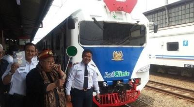 Kereta Rumah Sakit Disiagakan dalam Operasi Kemanusiaan