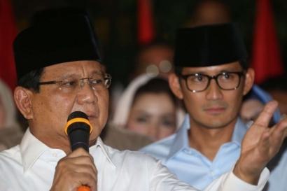 Saweran Partai Koalisi Mandek, Prabowo-Sandi Hanya Dimanfaatkan?