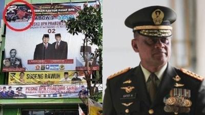 Gatot Nurmantyo pun Korban Hoax Prabowo