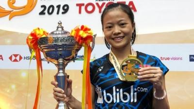 Juara Thailand Masters 2019, Fitriani Hentikan Dominasi Tunggal Putri Tuan Rumah