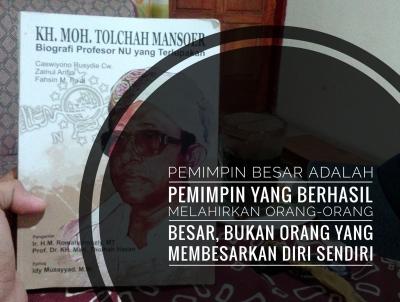 Resensi Buku KH. Moh. Tolchah Mansoer, Biografi Pelopor Gerakan Pelajar