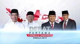 Debat Capres-Cawapres versi Cebong yang diamini Kampret