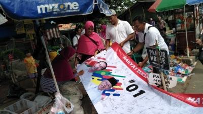 Relawan Jokowi Gelar Dukungan Serentak di Jabodetabek