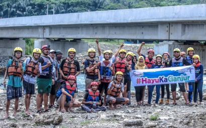 Sensasi Arung Jeram di Sungai Citarum