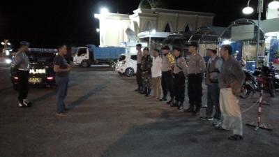 Bermalam Minggu dengan Patroli Sinergitas TNI-Polri