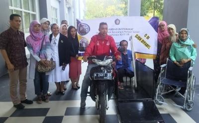 Fakultas Kedokteran Universitas Brawijaya Kembangkan Motor Ramah Difabel bagi Penyandang Disabilitas