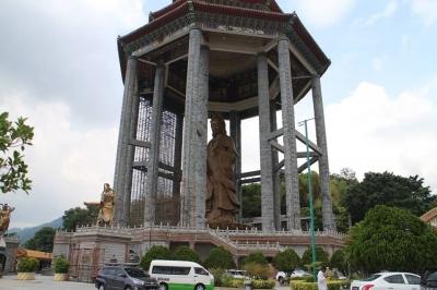 Kuil Kek Lok Si di Penang, Terbesar di Asia Tenggara
