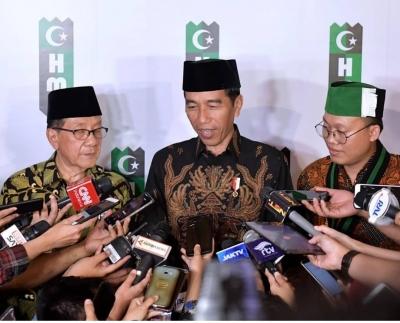 Pilpres 2019, Doa Akbar Tandjung dan Milad HMI