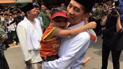 Mengharukan, Video Anak Berkebutuhan Khusus dengan Jokowi