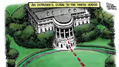 "Hidup Tertutup dalam Ratusan Ruang di Ratusan Hektar ""The White House"""