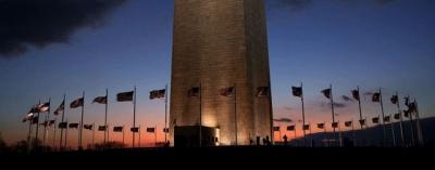 "Obelisk ""Washington Monument"", Poros Utama dari US Capitol"