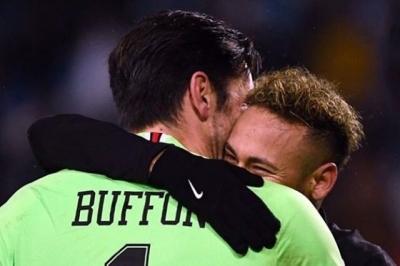 Janji Neymar kepada Buffon yang Bikin Haru