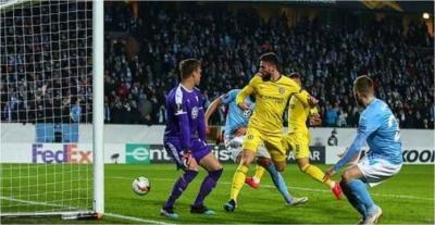 Chelsea dan Napoli Raih Hasil Positif di Liga Eropa