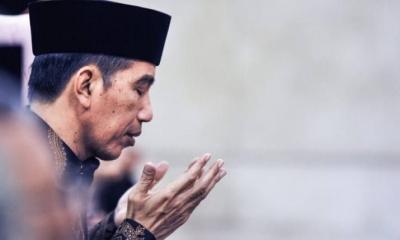 Presiden Jokowi dan Sukuran pergi Umroh