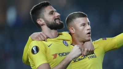 Barkley dan Giroud di Liga Eropa Membuat Maurizio Sarri Lega