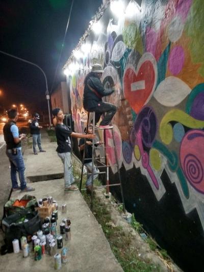 Gus Bill Tebar Mural Matahati