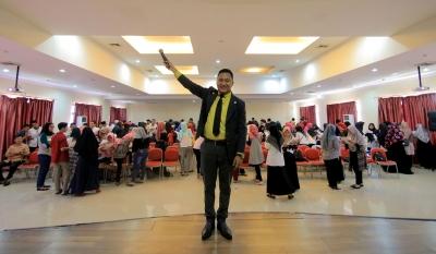 Ribuan Pelajar Ikuti Seminar Bahasa Inggris Global Vibe Inspiration