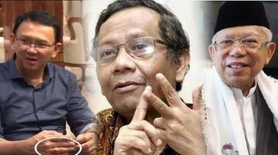 Soal Isu BTP Gantikan Ma'ruf Amin, Mahfud MD Nilai Permainan Politik Tingkat Tinggi