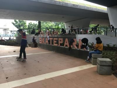 Skatepark Slipi di Antara Impian dan Kenyataan