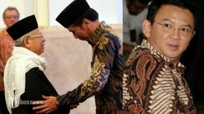 """Menyoal Cuitan Fahri tentang """"Love Story"""" Cinta Segitiga Jokowi-Ahok-Amin"""