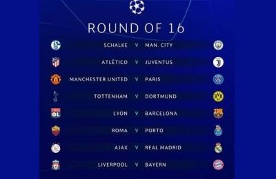 Bagian 2: Review dan Preview Babak 16 Besar Liga Champions 2018/19