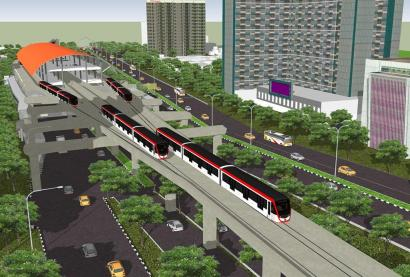 LRT Jabodebek, Waktu Tunggu Antar Kereta 6 Menit Saja