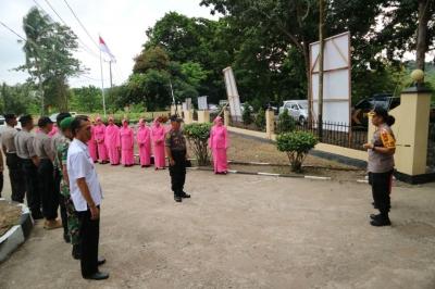 Kunjungan Kerja Kapolres Sidrap ke Polsek Watang Pulu