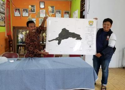 Peta Desa Wisata oleh KKN Tim I Undip 2019 untuk Desa Curugsewu, Patehan, Kendal