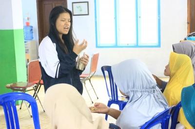 KKN UNDIP, Pelatihan Pembuatan Emping Rambutan dan Nugget