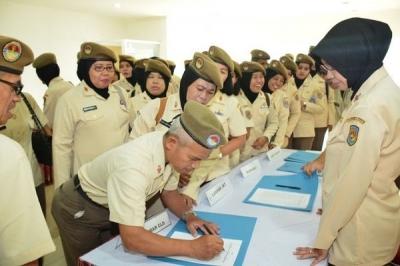 Sosialisasi Pembinaan Karir PNS TNI Angkatan Laut Wilayah Jakarta