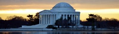 Hak Kebebasan dan Kebahagiaan di Jefferson Memorial