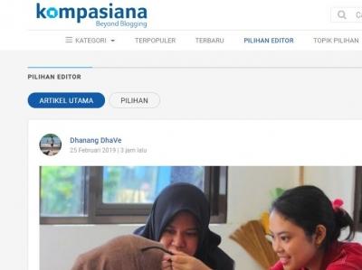 3 Cara Menulis Artikel Kompasiana yang Enak Dibaca dan Jadi Pilihan