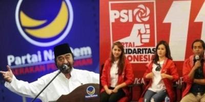 Nasdem dan PSI Berintegritas Perangi Korupsi