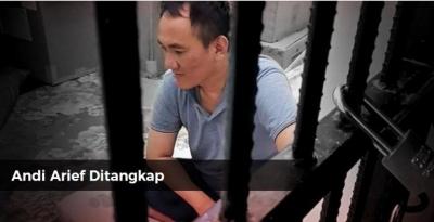 Andi Arief Ditangkap, di Mana Lucunya?